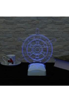 Dekorjinal 3 Boyutlu Dümen Lamba V23D137