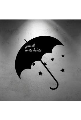 Özgül Grup Yaz-Sil Duvar Sticker Şemsiye