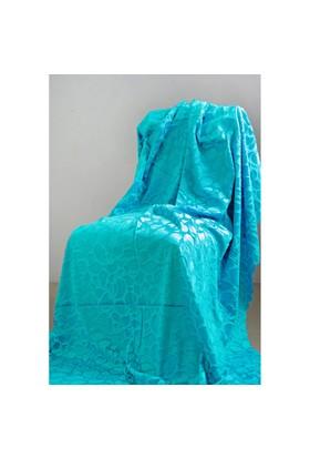 Special Home Special Home Tay Tüyü Koltuk Örtüsü / Şalı - 14 Farklı Renk Seçeneğiyle | Turkuaz
