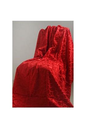 Special Home Special Home Tay Tüyü Koltuk Örtüsü / Şalı - 14 Farklı Renk Seçeneğiyle | Kırmızı