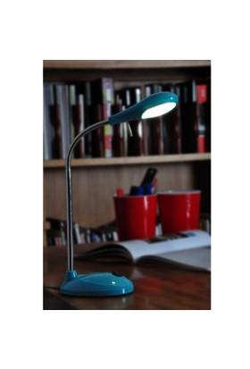 Relco Italia Sydney Led Mavi Renk Masa Lambası