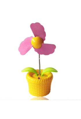 Buffer Masaüstü Işıklı Çiçek Fan