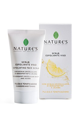 Nature's Acque Exfoliant Face Scrub 50 ml - Arındırıcı Peeling