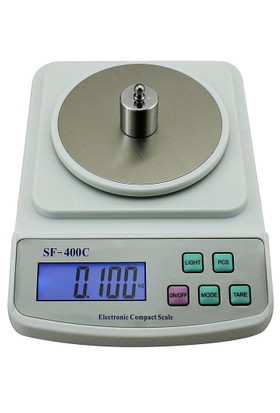 500g 0.01G SF-400C LCD Dijital Hassas Terazi