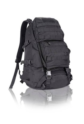 Protector Plus 45L Taktik Seyahat Çanta (Siyah)