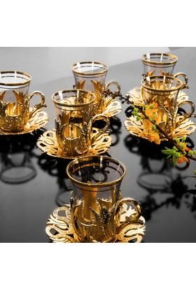 Sena Hanedan Çay Seti 6 Kişilik