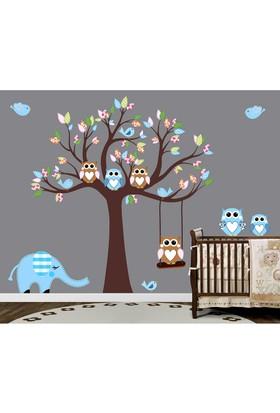 Besta Ağaç Duvar Sticker