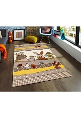 Padişah Padişah Çizgi Cz003-070 Çocuk Halısı 120 x 170 cm