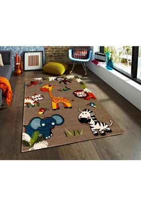 Padişah Padişah Çizgi Cz007-070 Çocuk Halısı 120 x 170 cm