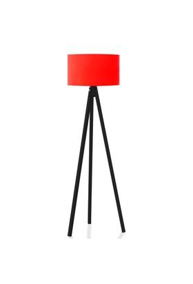 BS Maison Tripod Lambader Kırmızı Siyah