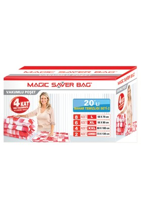 "Magic Saver Bag 20 Li ""Bahar Temziliği Seti"" - 2"