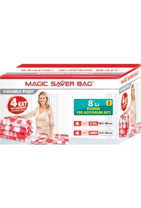 "Magic Saver Bag 8 li ""Evimde Yer Açıyorum"" Seti - 2 li"