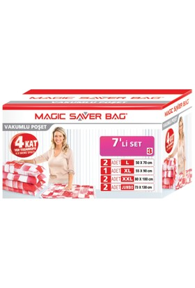 Magic Saver Bag 7 Li Set-3