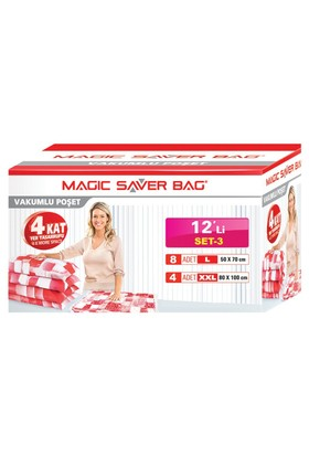 Magic Saver Bag 12 Li Set - 3