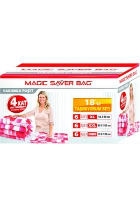 "Magic Saver Bag 18 Li ""Taşınıyorum Seti"""