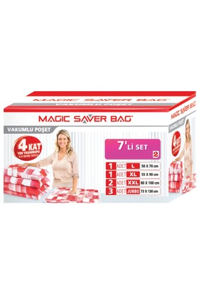 Magic Saver Bag 7 Li Set-2