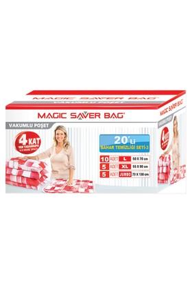 "Magic Saver Bag 20 Li ""Bahar Temziliği Seti"" - 3"
