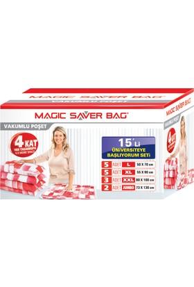 """Magic Saver Bag 15 li """"Üniversiteye Başlıyorum"""" Seti"""