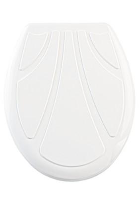 Doğuş Banyo Doğuş Klozet Kapağı Damla-Beyaz