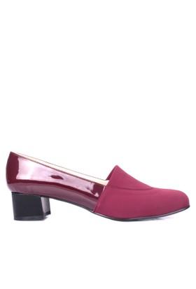 Loggalin 375020 031 620 Kadın Bordo Günlük Ayakkabı