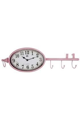 Vitale Anahtar Askı Saat Pink