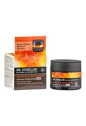 Dr. Scheller Thistle Oil & Chia Seeds Intensive Restructuring Care Night 49G - Çok Kuru Cilt Rahatlatıcı Gece Kremi