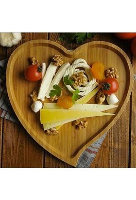 Bambum Amor Kalp Tepsi Büyük