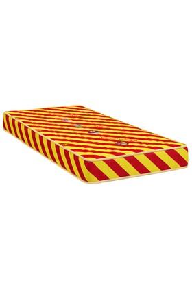 Mopa Teks Taraftar Ultra Full Ortopedik Visco Yatak - 150 X 200 - Sarı - Kırmızı