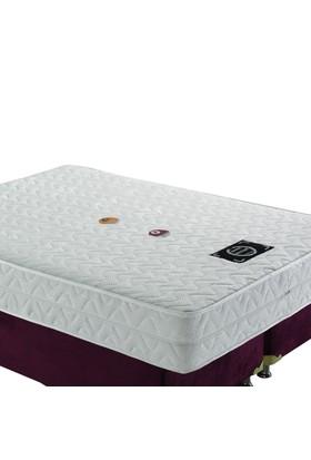 Mopa Teks Masaj Terapi Fermuarlı Ultra Full Visco Yatak - 180 X 200 - Beyaz