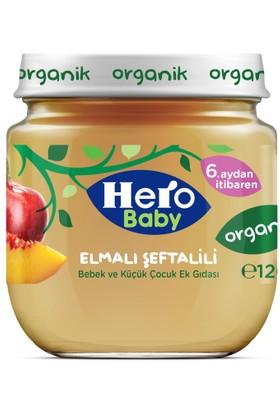 Hero Baby Organik Karışık Elma Şeftali Kavanoz Maması 120 gr