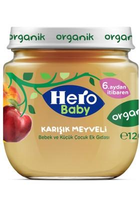 Hero Baby Organik Karışık Meyveli Kavanoz Maması 120 gr