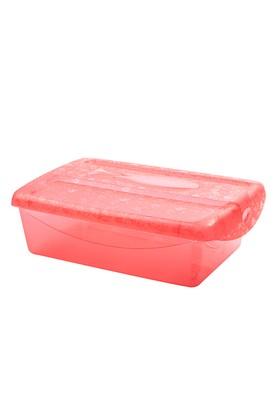 Titiz 3 lü Tidy up Büyük Kırmızı Ayakkabı ve Eşya Saklama Kutusu