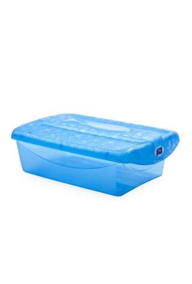 Titiz 3 lü Tidy up Küçük Mavi Ayakkabı ve Eşya Saklama Kutusu