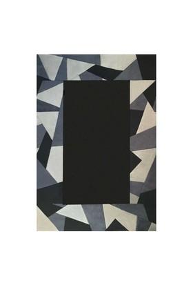 Tappeto Pony Prizma Halı - Siyah - 120x180 cm