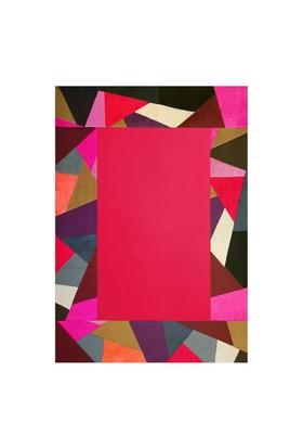 Tappeto Pony Prizma Halı - Multi Kırmızı - 120x180 cm