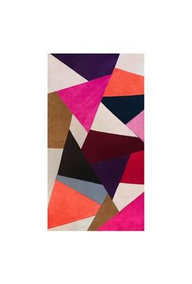 Tappeto Pony Prizma Halı - Multi Renkli - 80x150 cm