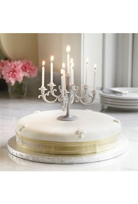 BuldumBuldum Birthday Candle Holder - Mum Tutacağı - Mavi