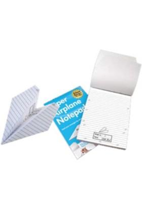 BuldumBuldum Paper Airplane Notepad - Kağıt Uçak Not Defteri