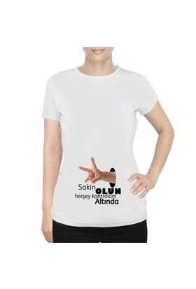 BuldumBuldum Bebek Eli Hamile T-Shirt