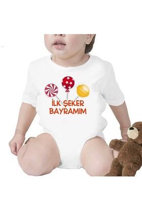 BuldumBuldum İlk Şeker Bayramı Bebek Zıbını - 1 Yaş