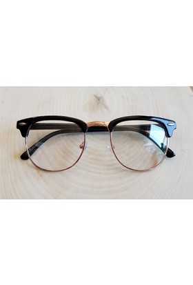 Köstebek Siyah Saplı Gold Çerçeveli Gözlük Kgz066