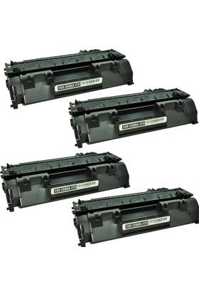 Calligraph Hp LaserJet Pro P2055dn Toner 4 lü Ekonomik Paket Muadil Yazıcı Kartuş