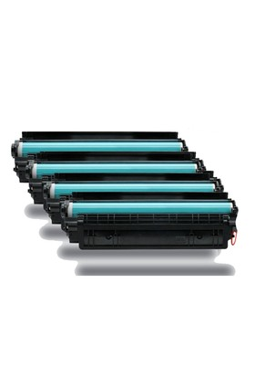 Calligraph Hp LaserJet P1005 Toner 4 lü Ekonomik Paket Muadil Yazıcı Kartuş