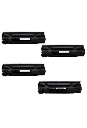 Calligraph Canon i sensys MF4750 Toner 4 lü Ekonomik Paket Muadil Yazıcı Kartuş