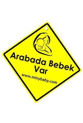 Miny Baby Arabada Bebek Var