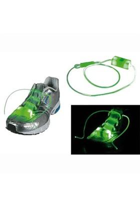 BuldumBuldum Flashing Led Shoe Laces - Yanıp Sönen Led Ayakkabı Bağcığı - Yeşil