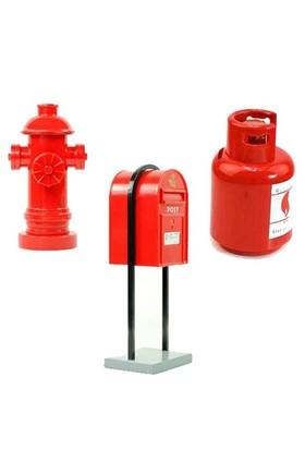 BuldumBuldum Yangın Musluğu & Posta Kutusu & Tüp Kumbaralar - Yangın Musluğu Kumbara