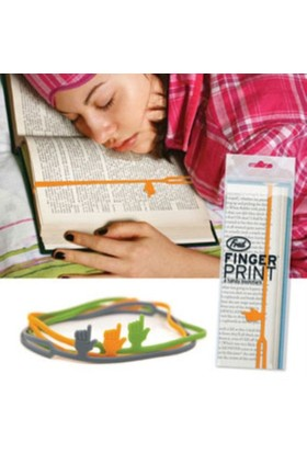 BuldumBuldum Fingerprint - El Kitap Ayracı - Yeşil