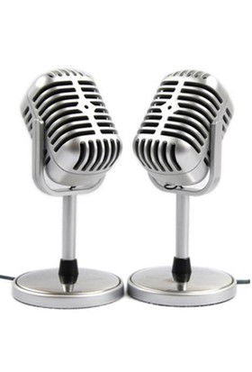BuldumBuldum Vintage Karaoke Mikrofon