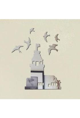 BuldumBuldum Kız Kulesi Dekoratif Ayna